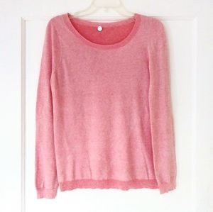 Margaret O'Leary Pink 100% Cotton Light Sweater